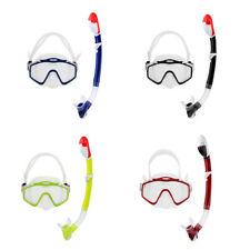 Adult Mask and Snorkel Set Scuba Dive Snorkeling Spearfishing Swim Breath Tool