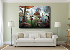 Alice In Wonderland Mad Hatter Giant 1 Piece Wall Art Poster Print