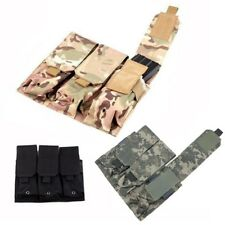 Outdoor Magazine Pouch Modular Triple Mag Pouch Adjustable Flaps Bullets Bag