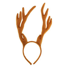 Deer Horns Headband Antlers Headgear for Christmas and Easter Party Fancy Dress