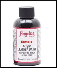 Angelus 4 oz Acrylic Leather Paint Sneakers Boots Handbags Shoes Jackets Belts