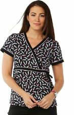 NWT KOI Kathryn Scrub Top 115PR-TDL ( Tossed Lipsticks ) ( All Sizes)
