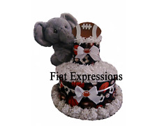Chef Owl Mini Diaper Cake Baby Shower Gift & Centerpiece