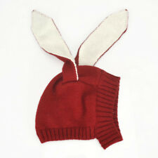 Infant Knitted Hat Rabbit Long Ear Hat Baby Bunny Beanie Cap Photo Props
