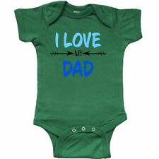 Inktastic I Love My Dad Fathers Day Infant Creeper For Kids Father New Gift Best