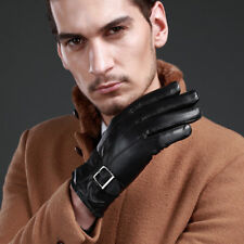 MENS CLASSIC DRIVING GLOVES SOFT GENUINE REAL LAMBSKIN LEATHER