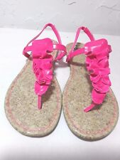 FADED GLORY - YOUTH GIRLS MOST SIZE'S-PINK or WHITE-PREMIUM-DESIGNED SANDALS