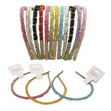 Headbands - Colorful Rhinestone 12 Piece Set by Cover Your Hair US