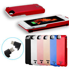 5000mAh External Power Bank Backup Battery Charger Case Cover For iPhone 6/6S/7