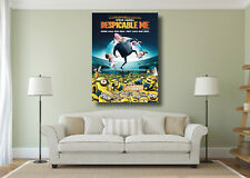 Despicable Me Minions Movie Kids Classic Large Wall Art BOX CANVAS Print