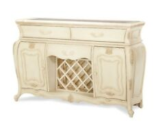 AICO Furniture - Lavelle Blanc Sideboard and Mirror Set - 54007-067-04