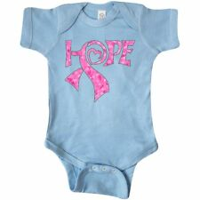 Inktastic Hope- Pink Ribbon For Breast Cancer Awareness Infant Creeper Survivor