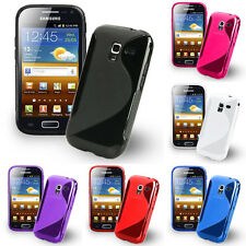 Protective Cover for Samsung Galaxy Ace 2 i8160 TPU Silicone Flip Case