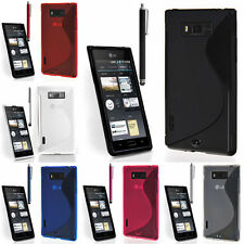 Cases For LG Optimus L7 P700 TPU Silicone Flip Case Cover Cover Shell