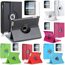 PU leather 360° rotating Protective case for Apple iPad 2/3 nouvel /4 Retina