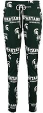 Ladies Michigan State Spartans NCAA Green Fusion Pajama Pants by Concepts Sports