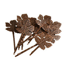 10pcs Hair Jewelry Hair Clips Maple Leaves Barrettes Bobby Pin Hairpins