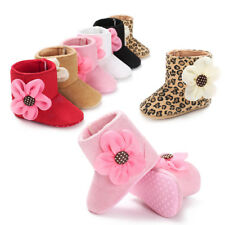 Baby Infant Warm Snow Booties Toddler Boots Girls Soft Sole Newborn Crib Shoes