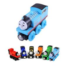 wooden toys thomas train Magnetic thomas and friends Wooden Model Train for baby