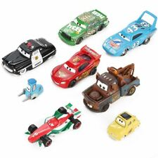 Disney Pixar Cars 3 Lightning McQueen Mater 1:55 Diecast Metal Alloy Model Car B