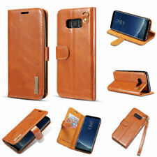 Leather Removable Magnetic Flip Wallet Case Card Stand For Samsung Galaxy Note 8