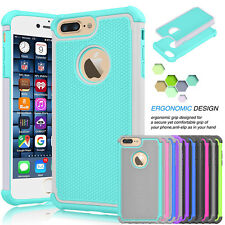 For Apple iPhone 8 6S 7 Plus ShockProof Hybrid Slim Protective Hard Case Cover