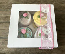 Baby Clothes Baby Shower Cupcakes Handmade Gift New Mom Center Piece Birthday