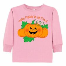 Inktastic Cutest Punkin' In The Patch Toddler Long Sleeve T-Shirt Pumpkin 1st Or