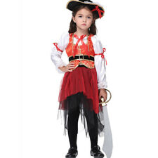 Costume Dress Pirate Halloween Fancy Girls Kids Girl Child Party Outfits Clothes
