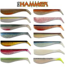 """5 pack 4"""" BIG HAMMER SWIMBAITS HAND POURED SALTWATER & FRESHWATER SELECT COLOR"""