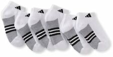 Agron Socks Youth Graphic6-Pack WBA adidas Boys Low Cut Sock- Choose SZ/Color.