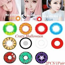 Halloween Cosmetic Contact lenses Circle Big Eyes Crazy Color Eyes Beauty Makeup