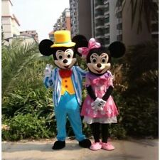 Mickey And Minnie Mouse Adult Mascot Costume Party Clothing Fancy Dress handmade