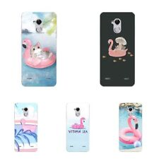 Case For ZTE Blade V8 A1 V7 Lite Soft TPU Silicone Phone Back Cover Pink Bird