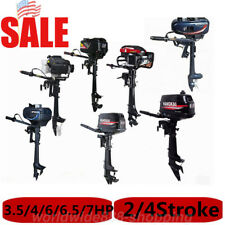 3.5/3.6/4/6/6.5/7HP Outboard Motor Boat Engine Air/Water Cooling Outboard Motor
