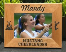 Cheerleader // Personalized Engraved // Photo Frame // Picture Frame