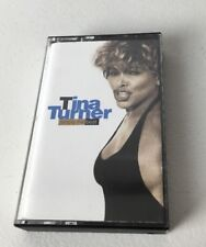 Tina Turner Simply The Best Cassette Tape 1991 Capitol Private Dancer Love Thing