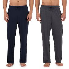 Maine New England Mens Pack Of Two Navy Jersey Bottoms From Debenhams
