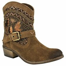Naughty Monkey NMLB0153 Womens Deco Stytch Boot- Choose SZ/Color.