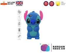 2017 New Cute Cartoon Model Silicon Material Stitch 3D Shape Movable Ear Case 5