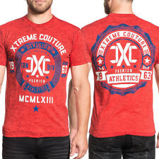 Xtreme Couture Extreme Athletics 1963 MMA UFC Figher Gym Mens T-Shirt Red S-3XL