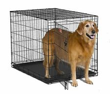 Foldable Indoor Dog House Crate Kennel Pet Cat Puppy Cave Cage Bed Warm Winter
