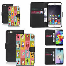 pu leather wallet case for many Mobile phones - lovebirds