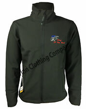 Scania V8 Regatta Full Zip Soft Shell Jacket with Back Embroidered Logo