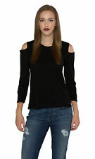 Velvet by Graham and Spencer Bria Cotton Slub Cut Out Top