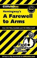 A Farewell to Arms by (2000) by William Faulkner              99 cent Shipping!