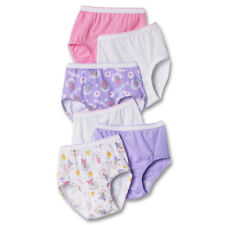 Hanes TAGLESS® Toddler Girls' Cotton Briefs 6-Pack TP30AS
