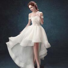 White/Ivory Wedding Dress Bridal Gown Custom Stock Size: 6 8 10 12 14 16 18  XGD