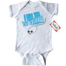 Inktastic I Was The Top Swimmer Infant Creeper Humor Funny Cute Sperm Baby Gift
