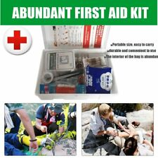 Emergency Survival Rescue Outdoor Camping Travel Medical First Aid Kit Pack BS